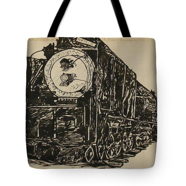 Locomotive Study Tote Bag