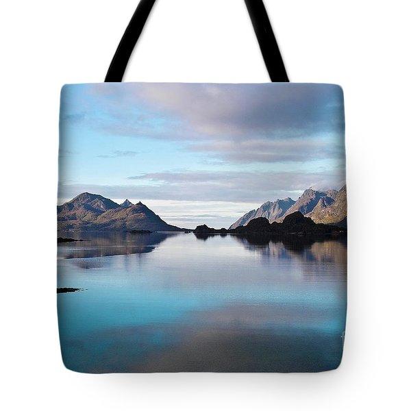 Lofoten Islands Water World Tote Bag by Heiko Koehrer-Wagner