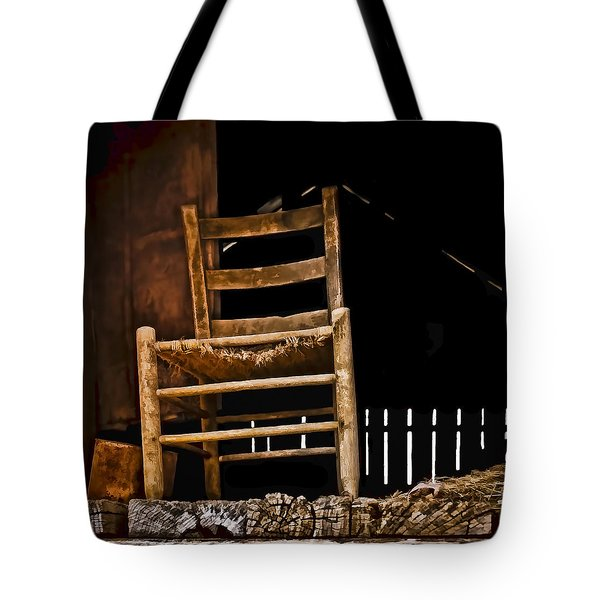 Loft Chair 2 Tote Bag by Greg Jackson