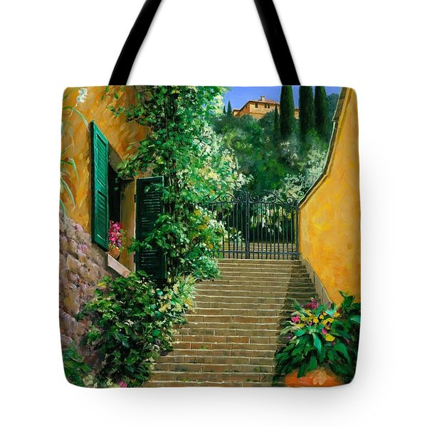 Lofty Heights Tote Bag