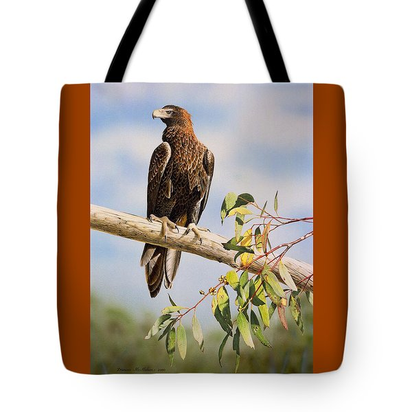 Lofty Visions - Wedge-tailed Eagle Tote Bag