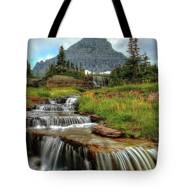 Logan Cascades Tote Bag