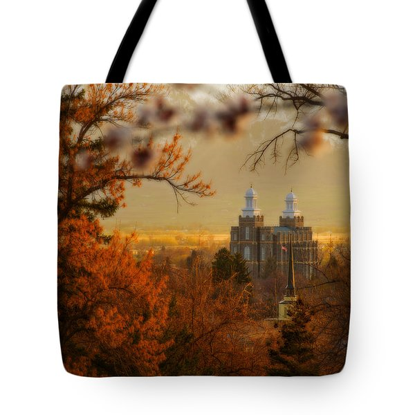 Logan Temple Tote Bag