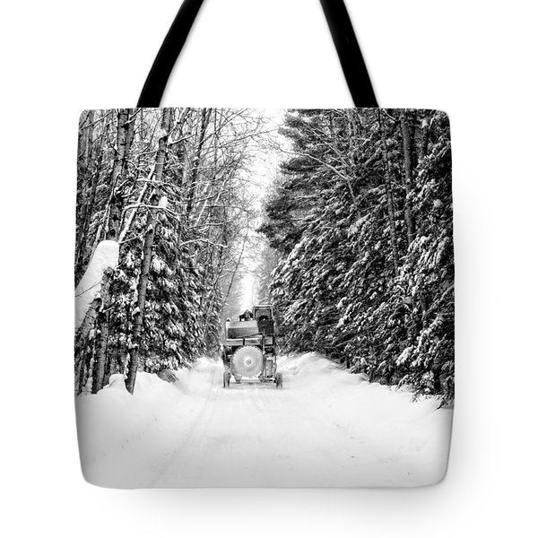 Logger's Commute Tote Bag