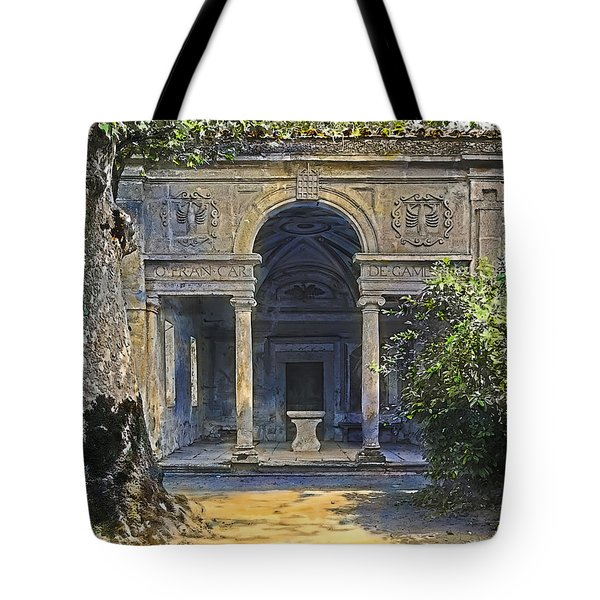 Loggia Of The Muses Tote Bag by Terry Reynoldson