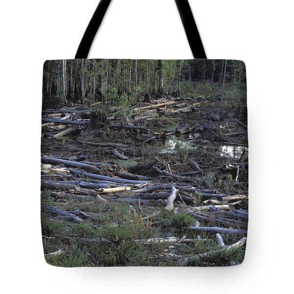 Logging Tote Bag