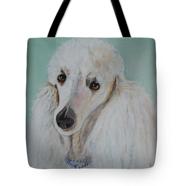Lola Blue - Painting Tote Bag