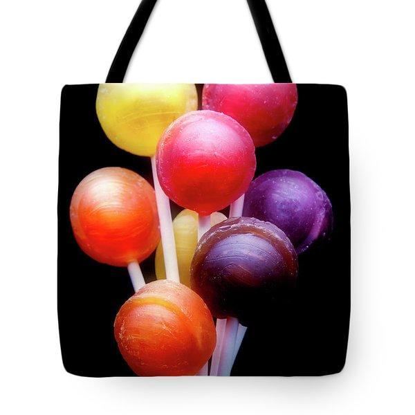 Lollipop Bouquet Tote Bag by Tom Mc Nemar