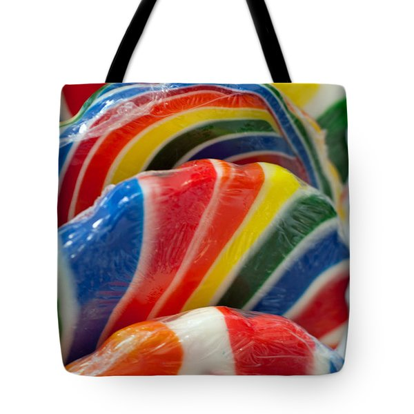Tote Bag featuring the photograph Lollipop  by Gunter Nezhoda