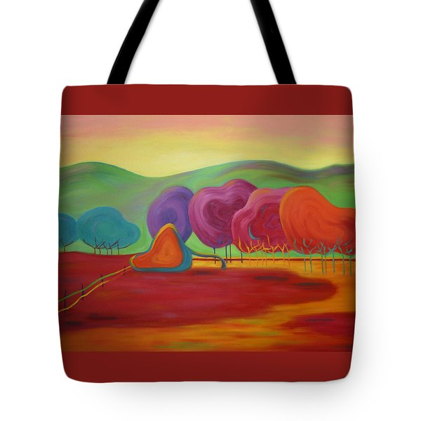 Lollipop Ranch Tote Bag
