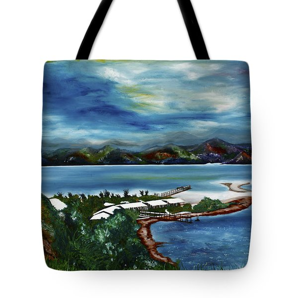 Loloata Island Tote Bag