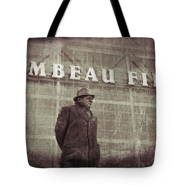 Lombardi At Lambeau Tote Bag