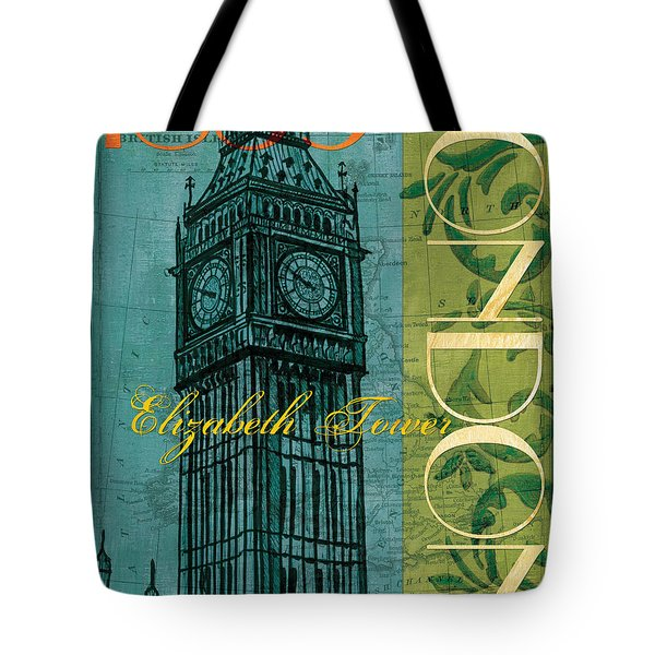 London 1859 Tote Bag by Debbie DeWitt