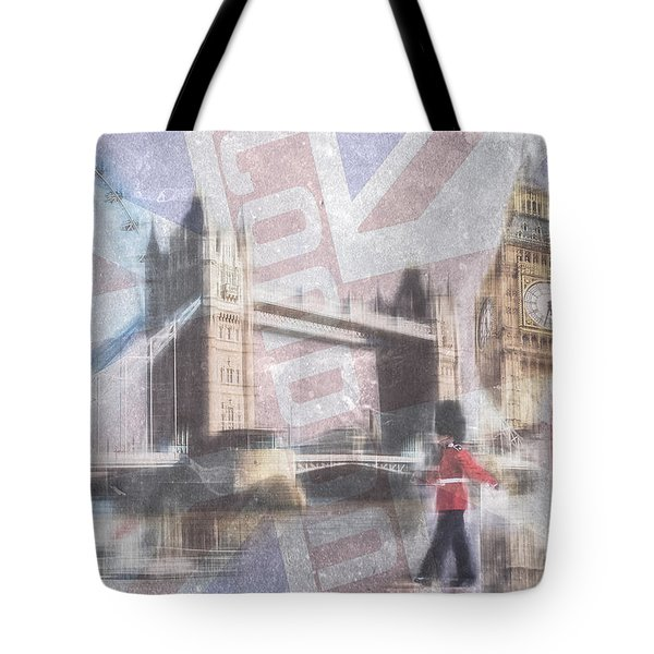 London Blue Tote Bag