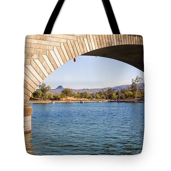 London Bridge At Lake Havasu City Tote Bag