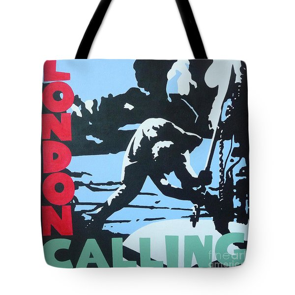 London Calling Tote Bag by ID Goodall