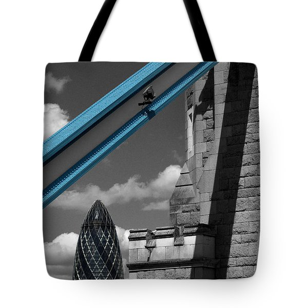 London City Frame Tote Bag by Hazy Apple
