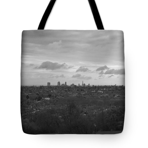 Tote Bag featuring the photograph London City by Maj Seda