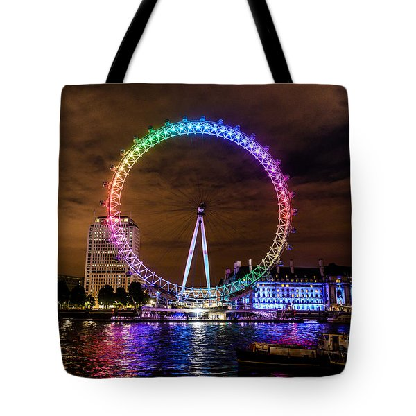 London Eye Pride Tote Bag by Matt Malloy