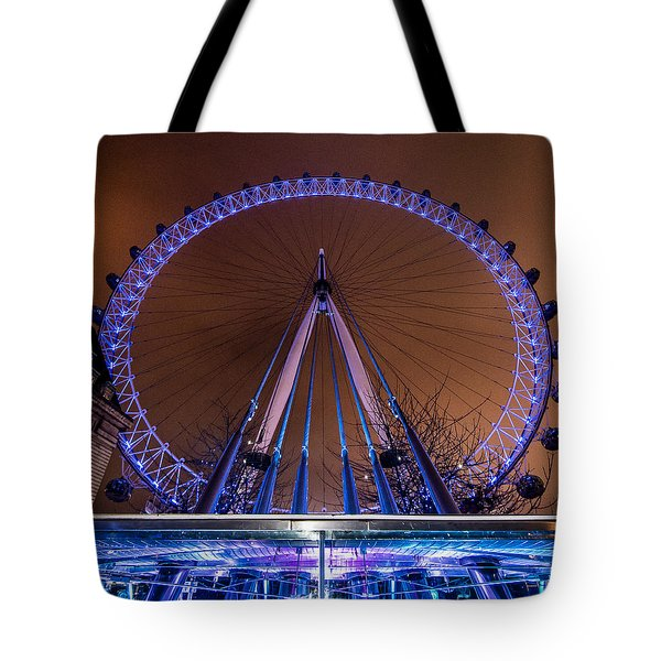 London Eye Supports Tote Bag by Matt Malloy