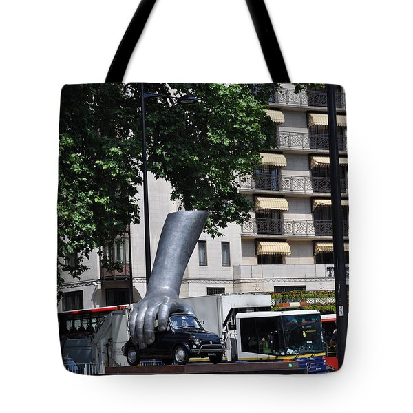 London Hand Tote Bag by Teresa Tilley