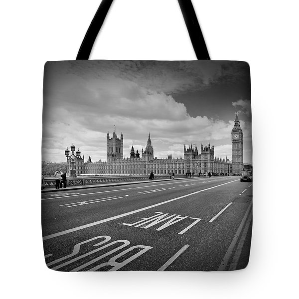 London - Houses Of Parliament  Tote Bag by Melanie Viola
