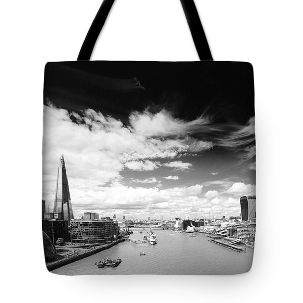 Tote Bag featuring the photograph London Panorama by Chevy Fleet