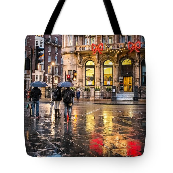 Reflections Of London Tote Bag