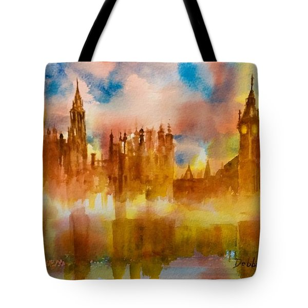 London Rising Tote Bag