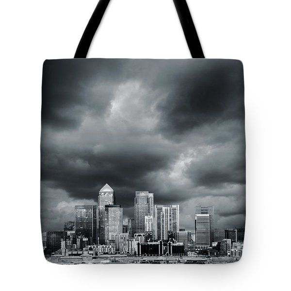 London Skyline 7 Tote Bag by Mark Rogan