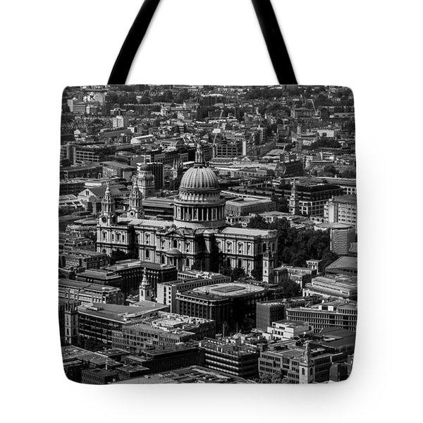 London Skyline Tote Bag by Martin Newman