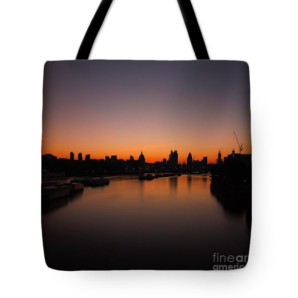 London Sunrise 2 Tote Bag