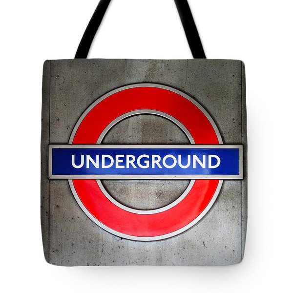 London Underground Sign Tote Bag
