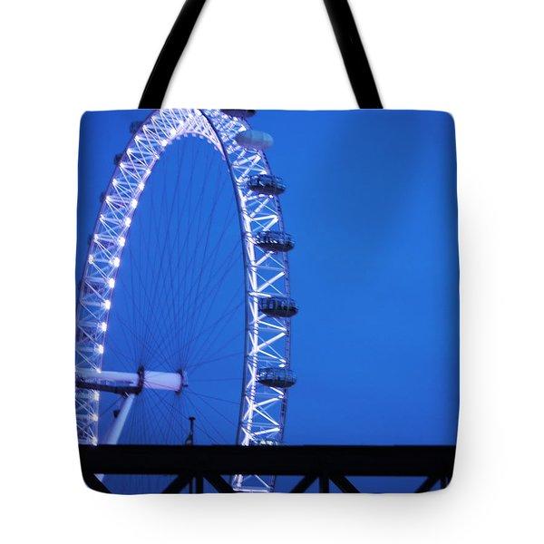 London's Eye At Dusk Tote Bag