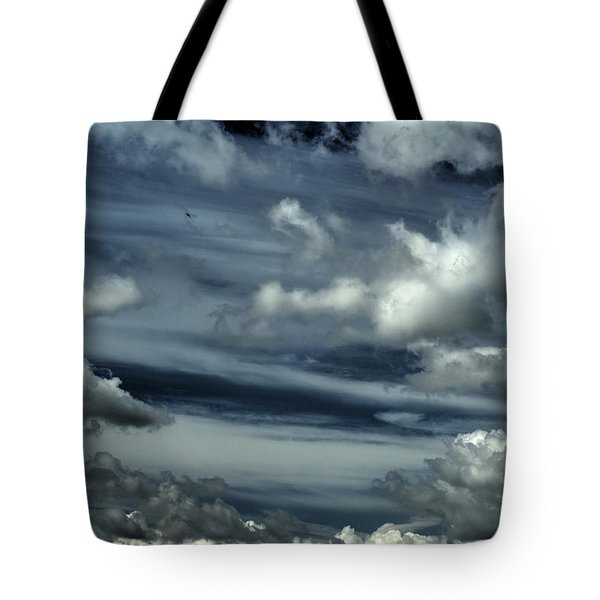 Tote Bag featuring the photograph Lone And Free by Julis Simo