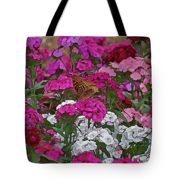 Lone Butterfly Tote Bag by Julie Grace