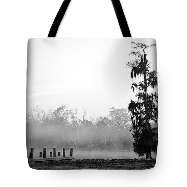 Lone Cypress Tote Bag by Chris Pietraroia