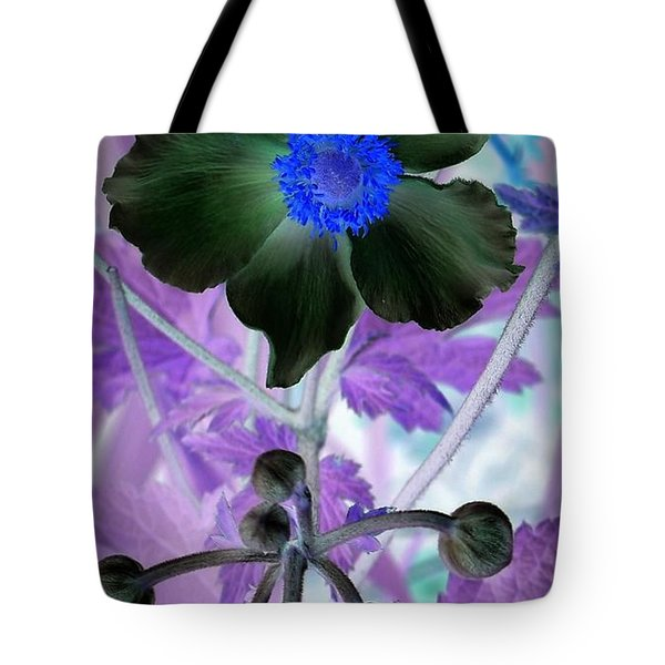 Lone Flower 1 Tote Bag by Chalet Roome-Rigdon