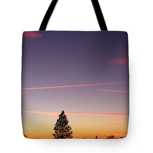 Lone Pine Tote Bag by Tom Mansfield