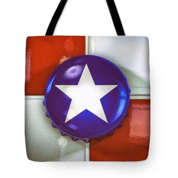Lone Star Beer Tote Bag by Scott Norris