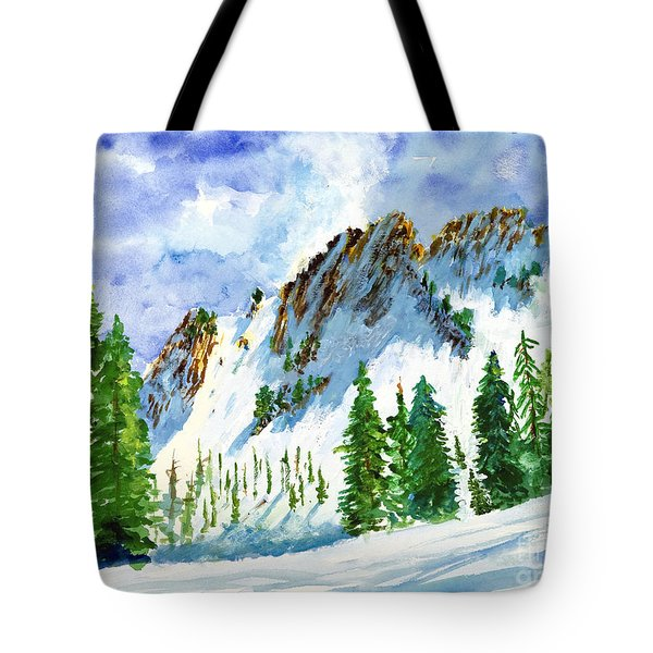 Lone Tree In The Afternoon Tote Bag