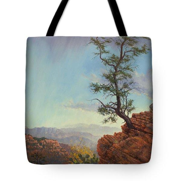 Lone Tree Struggle Tote Bag