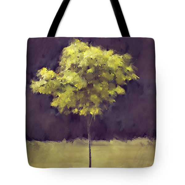 Lone Tree Willamette Valley Oregon Tote Bag