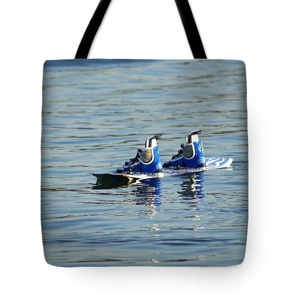 Lone Wakeboard Tote Bag by DejaVu Designs