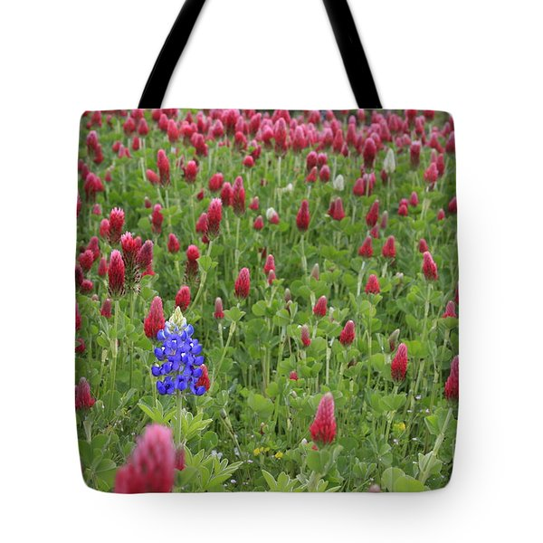 Lonely Bluebonnet Tote Bag
