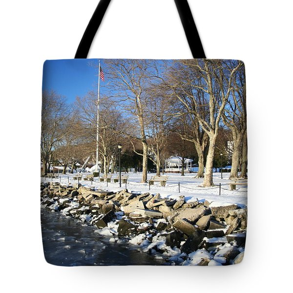 Lonely Park Tote Bag