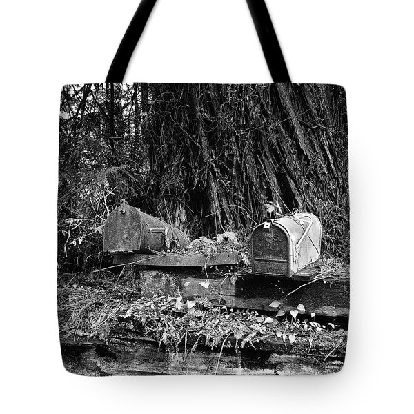 Lonely Post Tote Bag