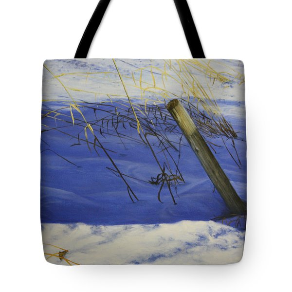 Tote Bag featuring the painting Lonely Relic by Tammy Taylor