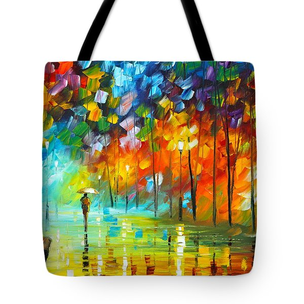 Lonely Stroll 3 Tote Bag
