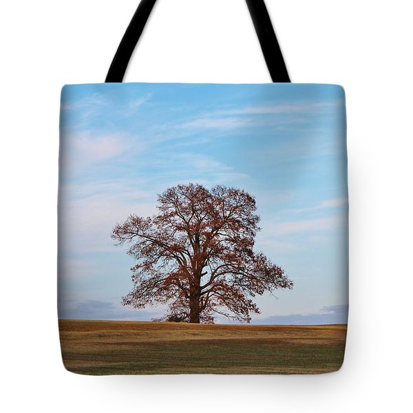 Lonely Tree Tote Bag by Cynthia Guinn